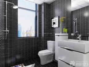 衛生間裝修設計 黑白室內裝潢