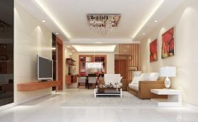 長形客廳裝修效果圖 隔斷設計