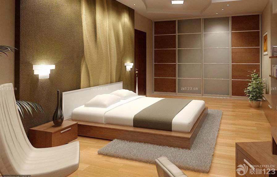 韩式风格硅藻泥主卧室背景墙效果图2015款