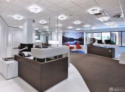 現代公司辦公室背景墻裝飾效果圖