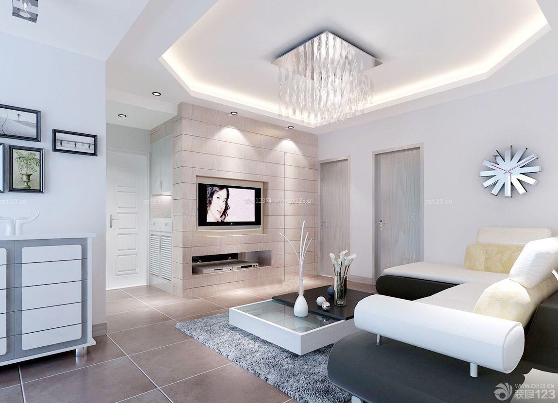 30平方客厅石膏板吊顶装修效果图片