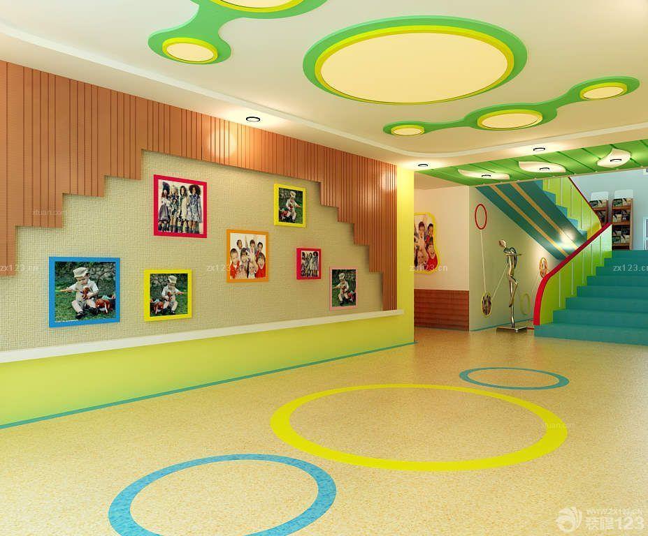 学校室内背景墙设计装修效果图图片