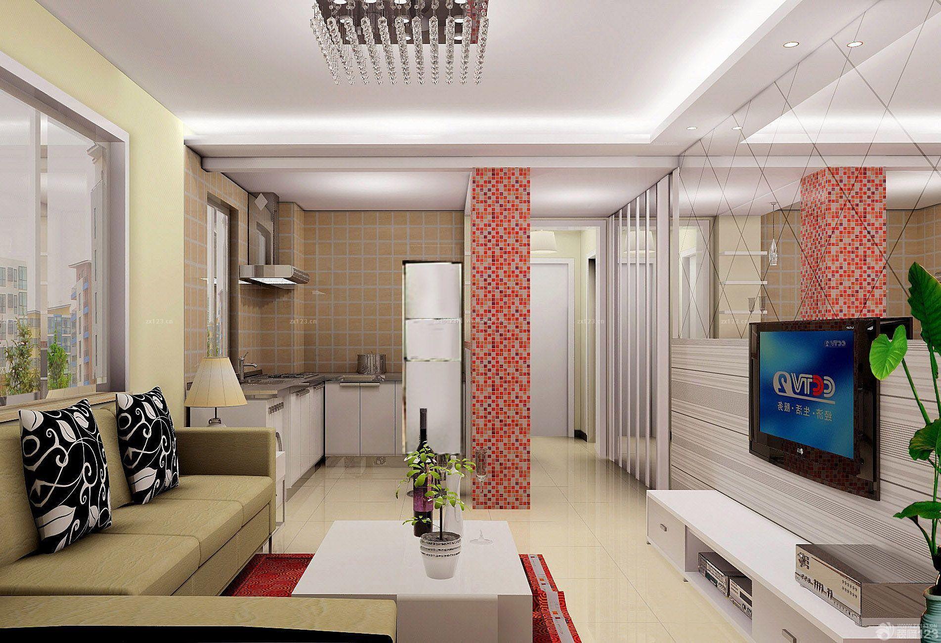 建筑面积30平方小户型公寓阳台改卧室装修图