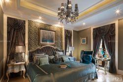 新古典臥室床頭裝飾畫裝修案例