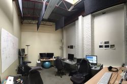 流行公司室內背景墻效果圖