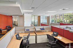 流行公司辦公室背景墻設計效果圖