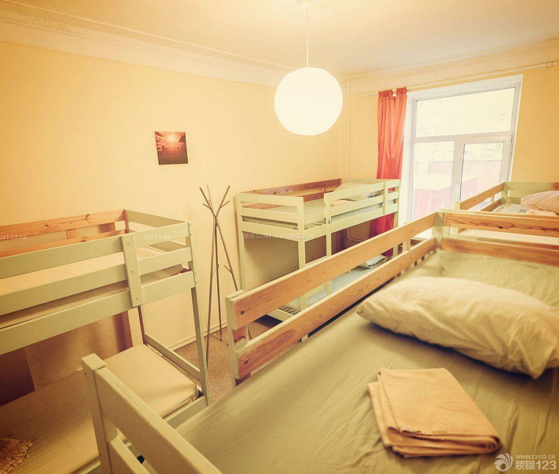 学校寝室简约室内装修效果图片大全