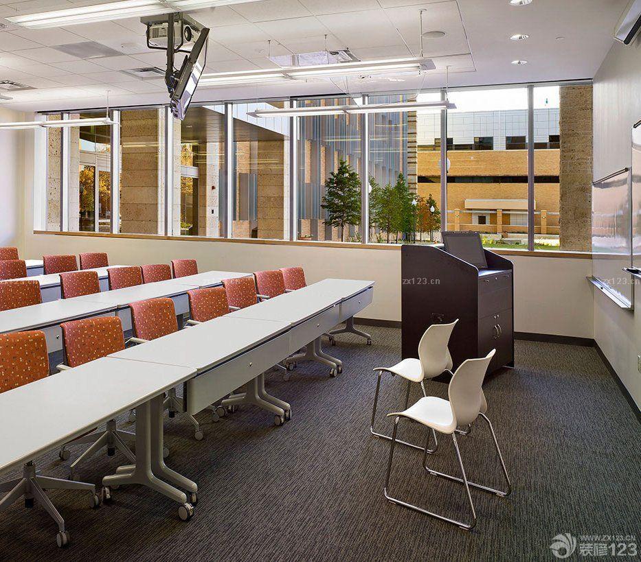 国外学校教室窗户装修设计效果图2015图片
