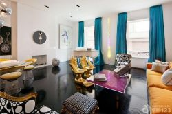 140平米新房客廳顏色搭配裝修
