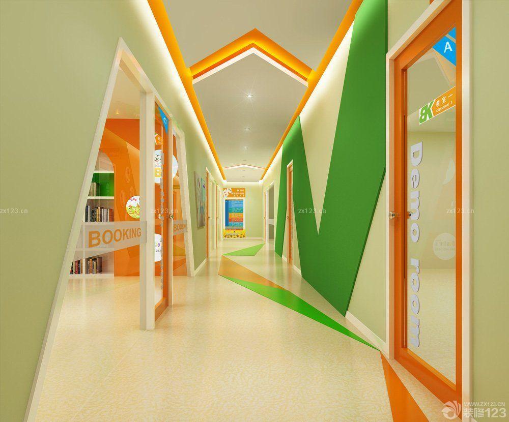 学校教室走廊设计图片展示