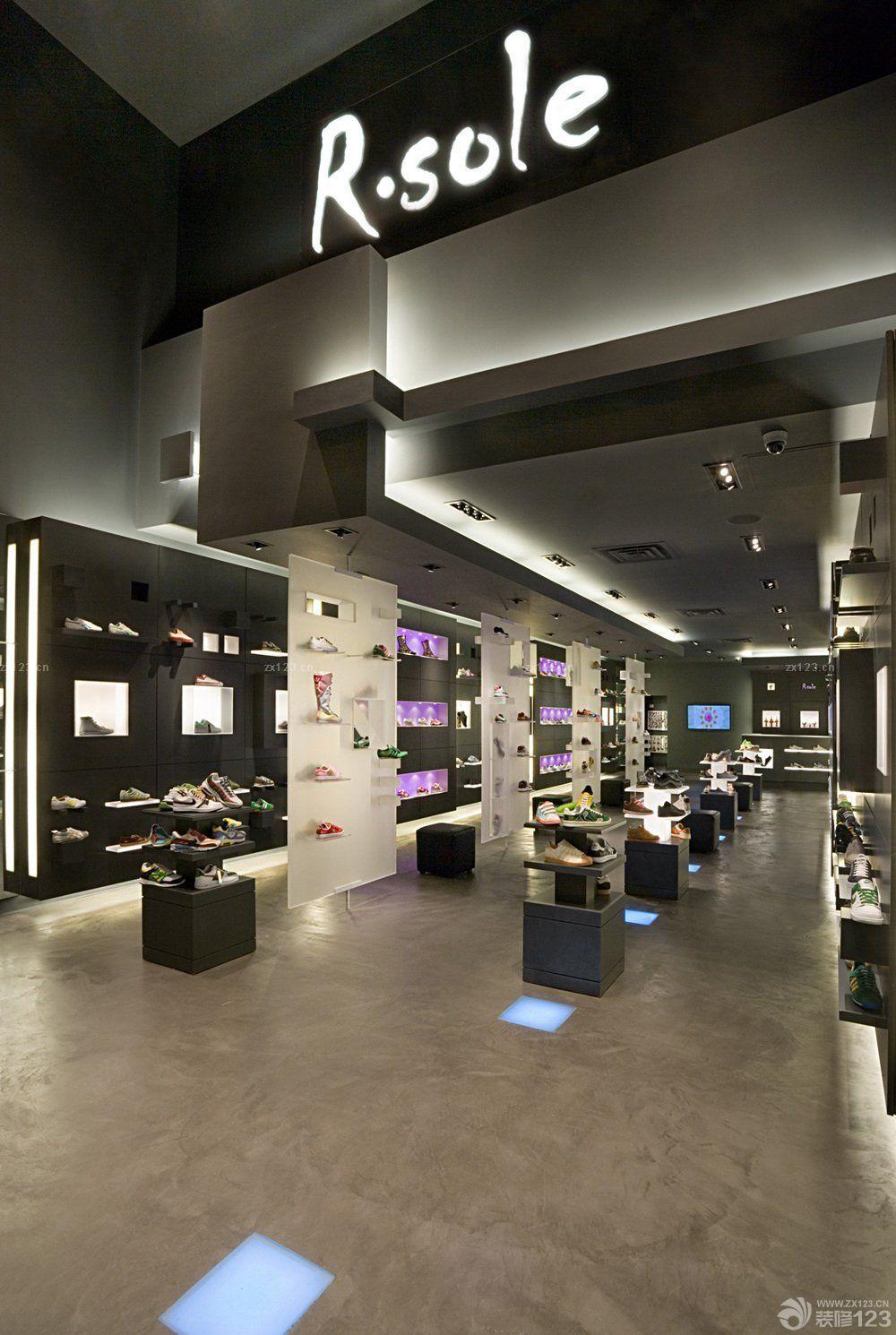 商场创意鞋柜设计图片