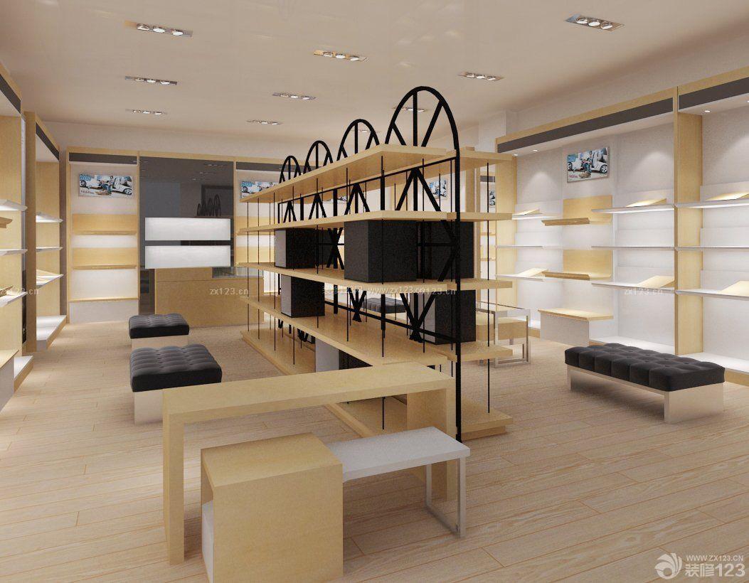 商场鞋柜设计陈列图片