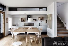 折疊餐桌圖片 北歐風格裝修設計