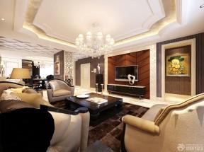 室內客廳設計效果圖 吊頂設計裝修效果圖片