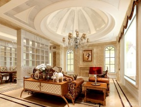 客廳弧形吊頂效果圖 吊頂造型