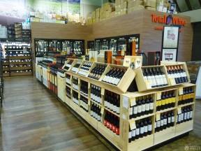 商场酒柜图片 超市装修效果