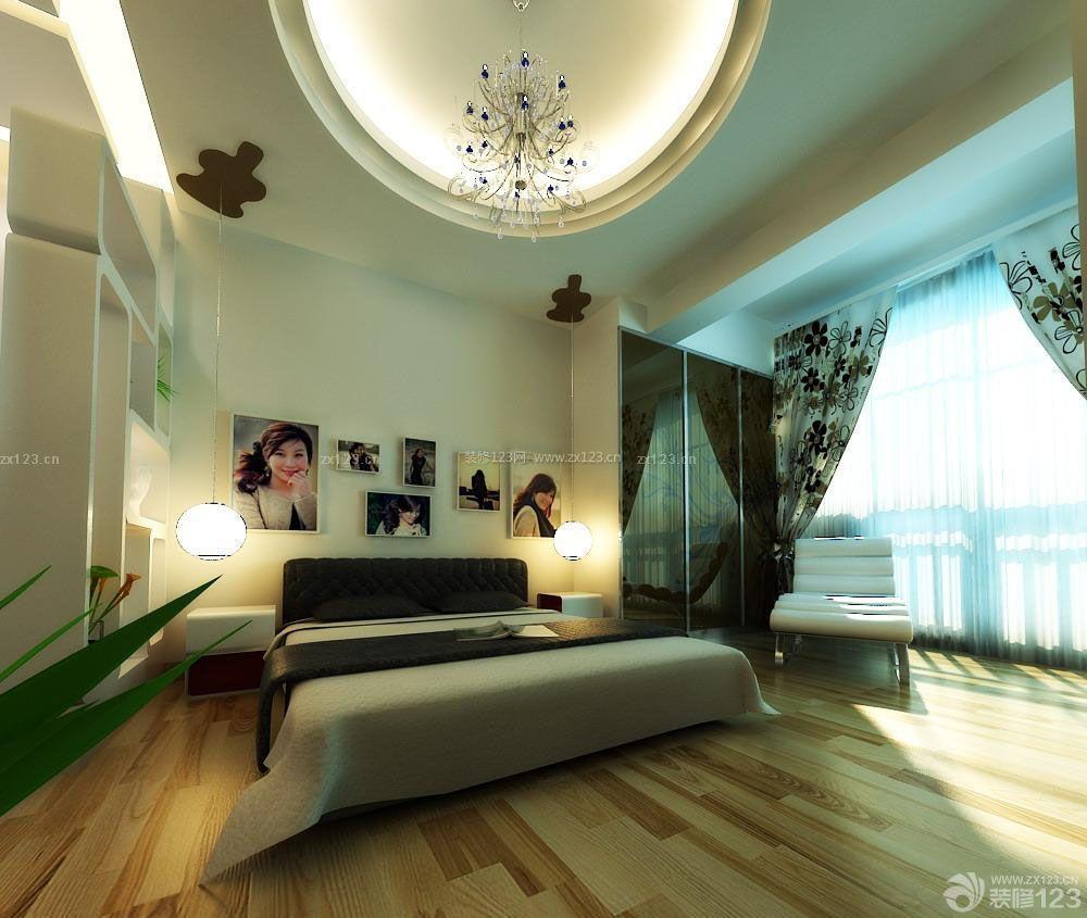 泰式卧室照片墙设计装修效果图图片