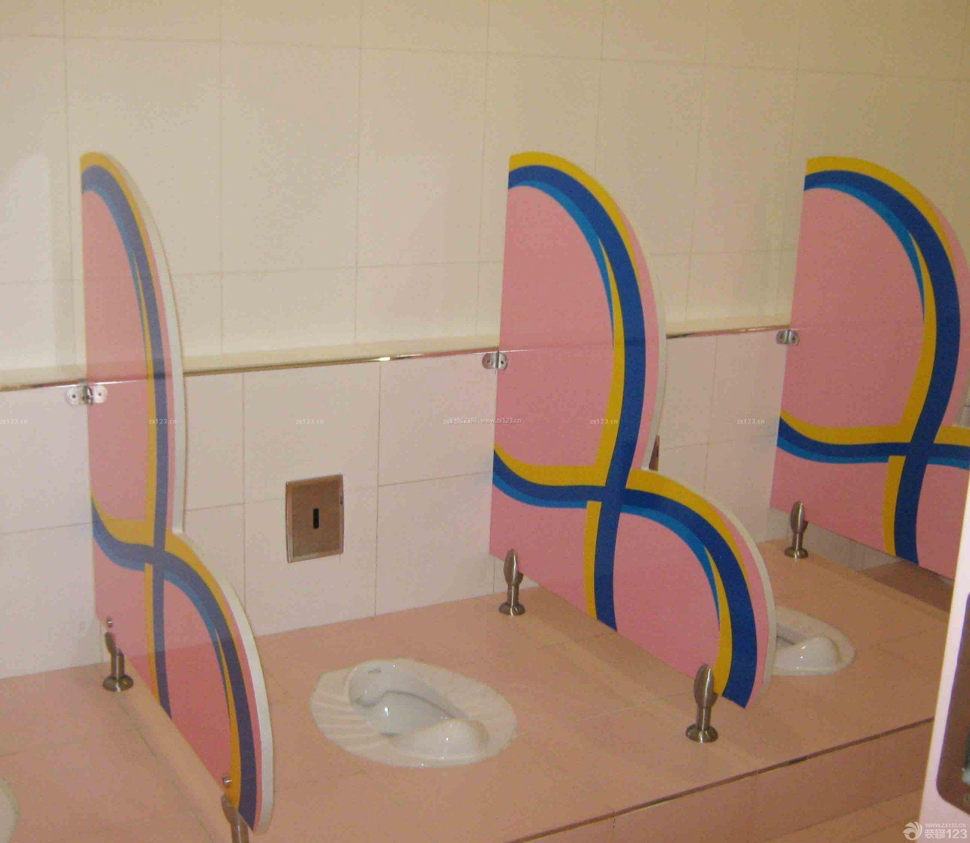 学校厕所便盆装修效果图片