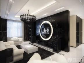 黑白室內裝潢 客廳吊頂裝潢