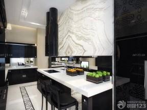 廚房設計圖片 黑白室內裝潢