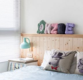 臥室床頭背景墻家庭軟裝飾-每日推薦