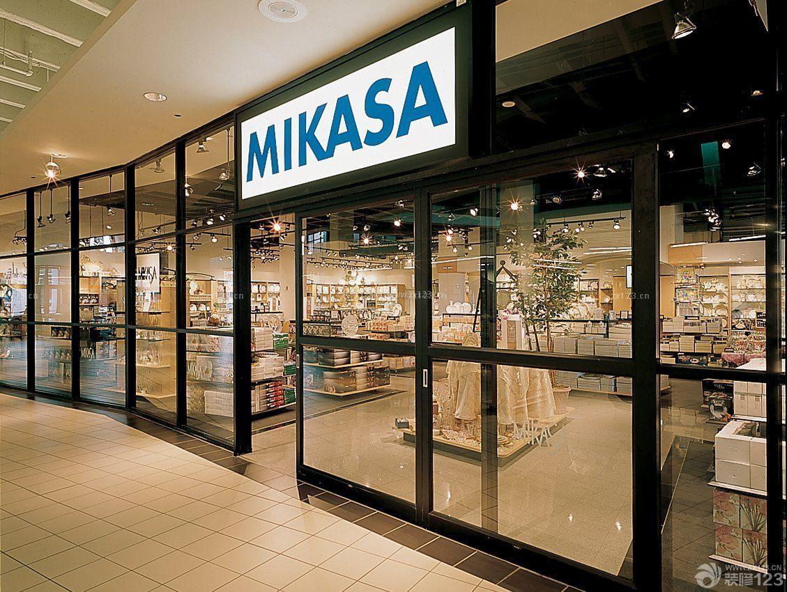 商场门头装饰装修效果图图片