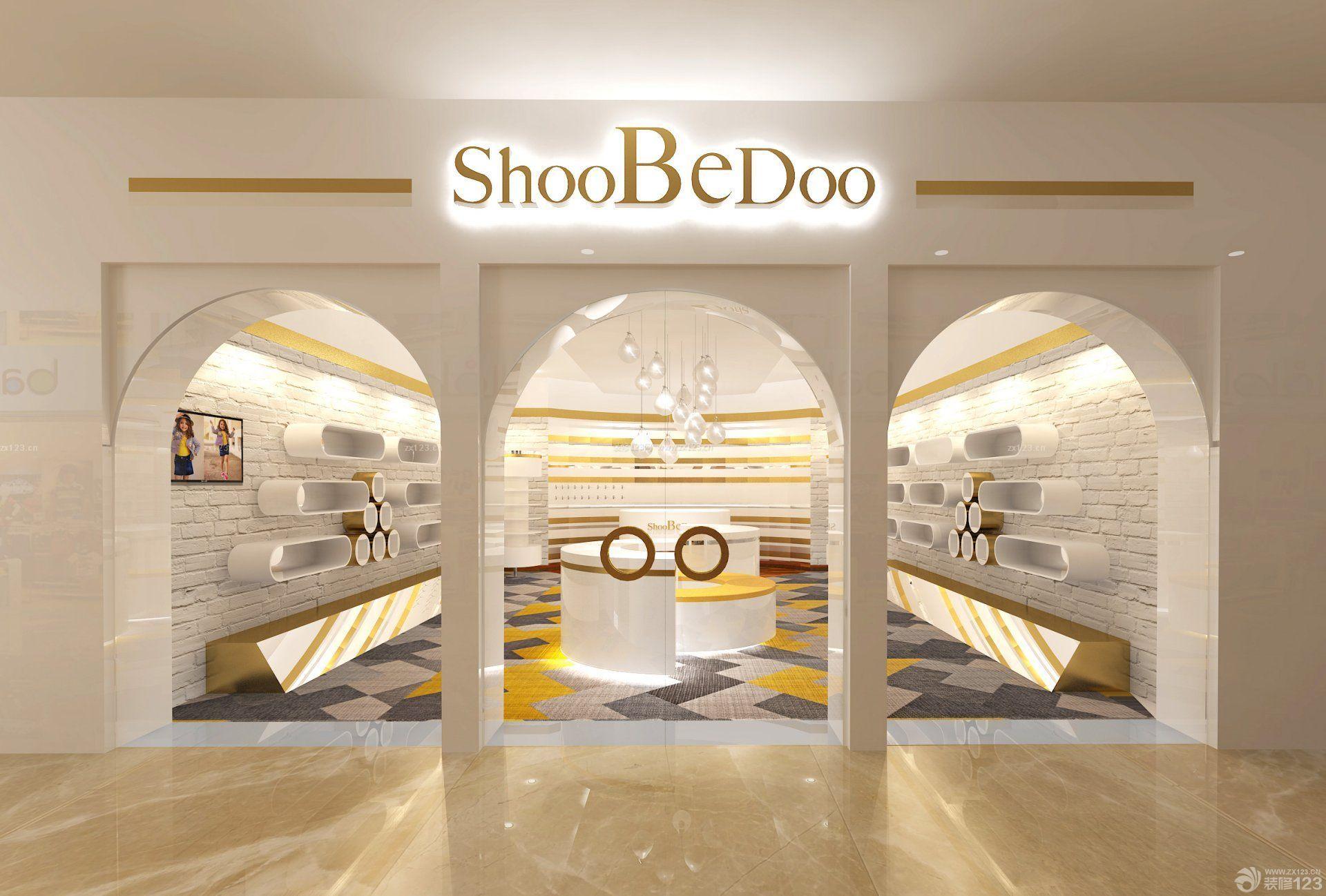 商场门头设计装饰效果图