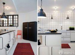 開放式廚房櫥柜中島裝修圖片效果