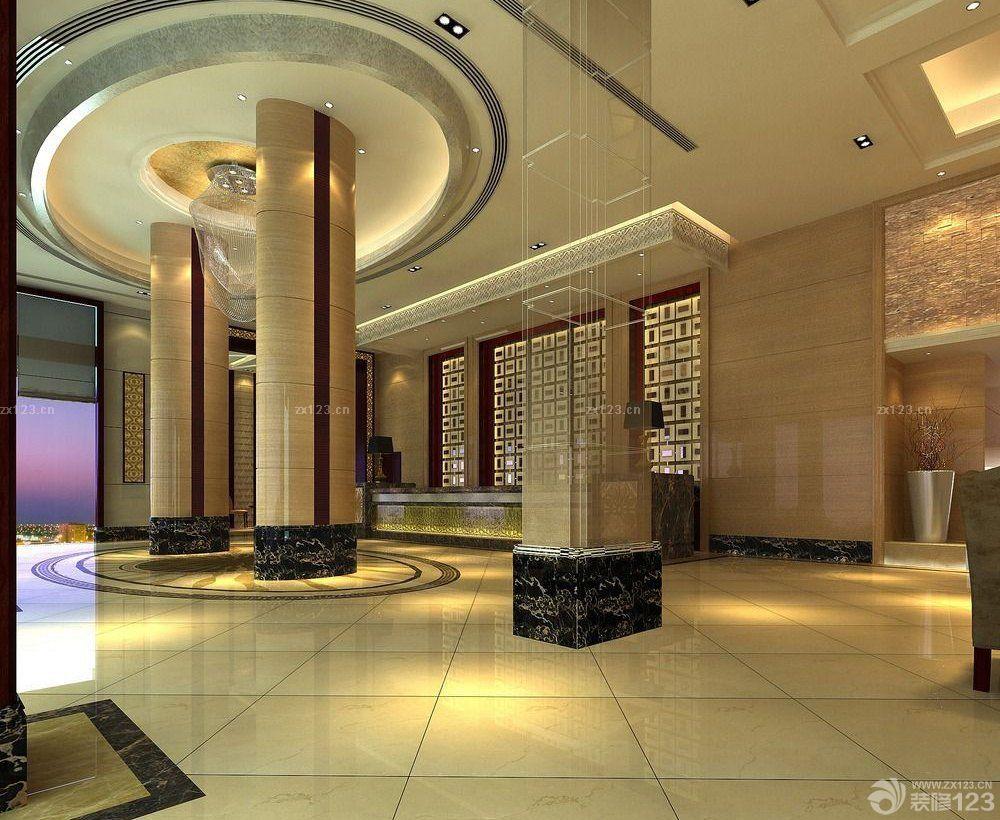 工装效果图 装修设计 商场柱子装修设计效果图