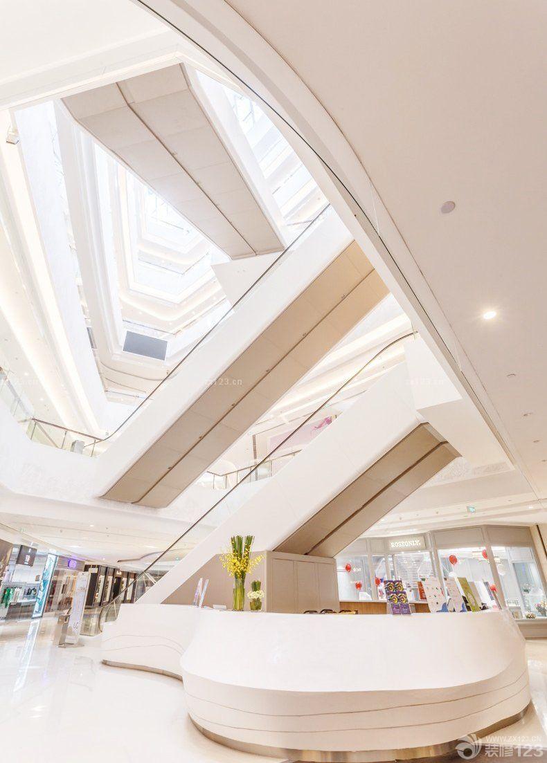 大型商场中庭设计效果图片_装修123效果图