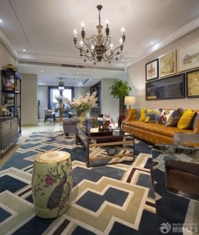 美式地毯貼圖 美式家居風格