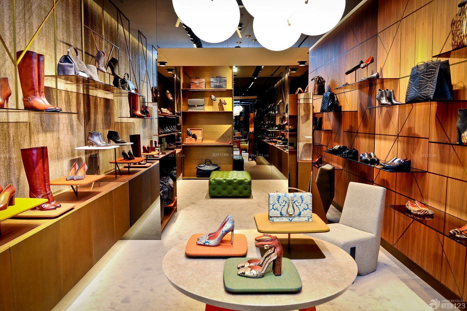 商场鞋柜设计效果图片