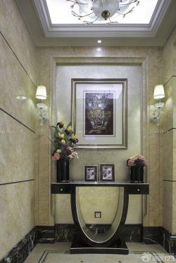 新古典玄關裝飾畫裝修案例