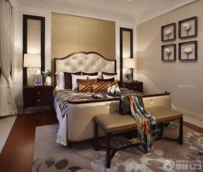 卧室装饰画 新古典卧室装修
