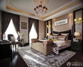 房屋卧室装饰 新古典风格床