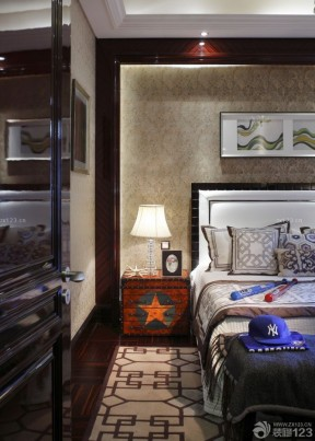 兒童房間的設計 新古典風格床