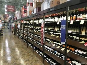 商场酒柜装修效果图 整体酒柜设计效果图