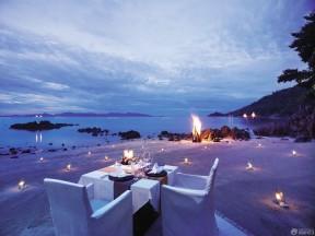 泰式餐廳裝修效果圖 頂級別墅設計