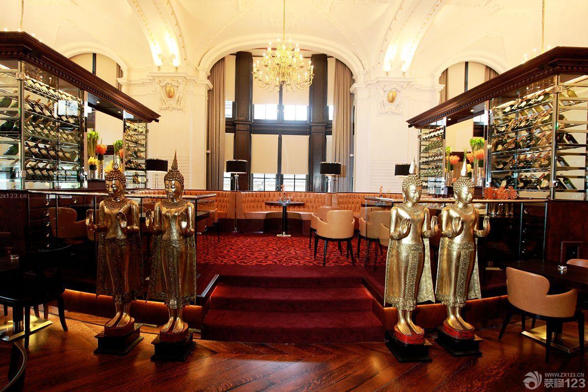 古典欧式风格酒吧装修效果图大全图片