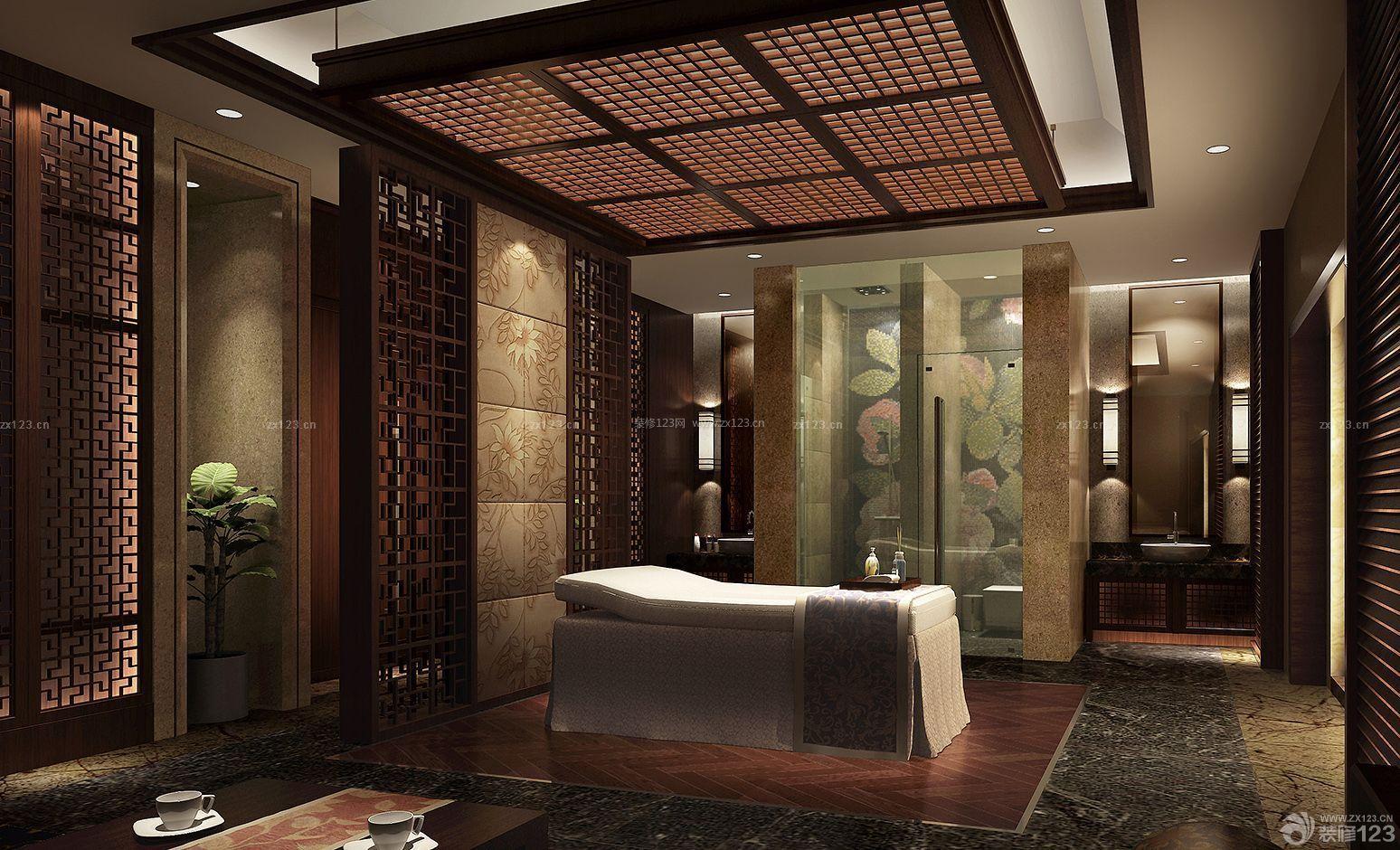现代中式客厅地毯装修效果图大全2015图片_装修123图片