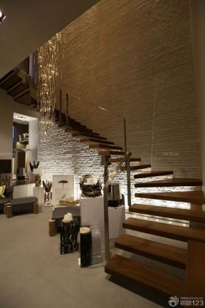 商场楼梯效果图 店面装修设计图