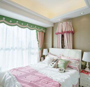 女孩卧室吊顶装修效果图小户型-装信通网效果图大全