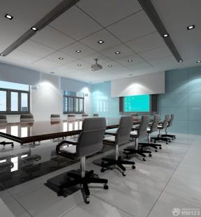工装会议室集成吊顶装修效果图
