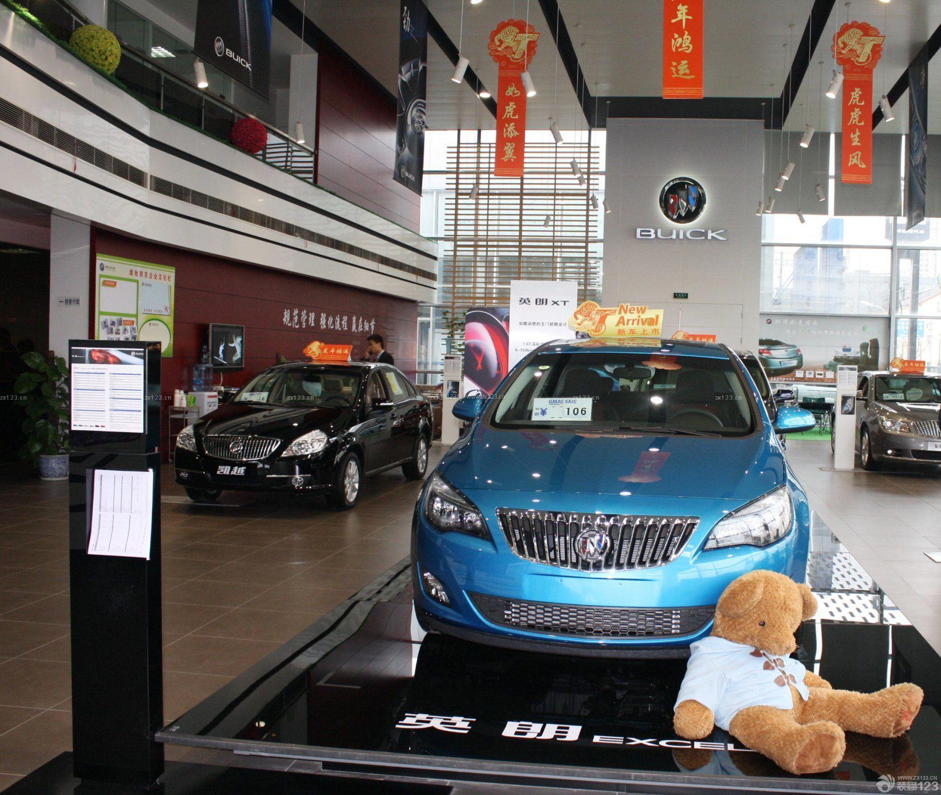 汽车4s店展厅布置效果图图片欣赏