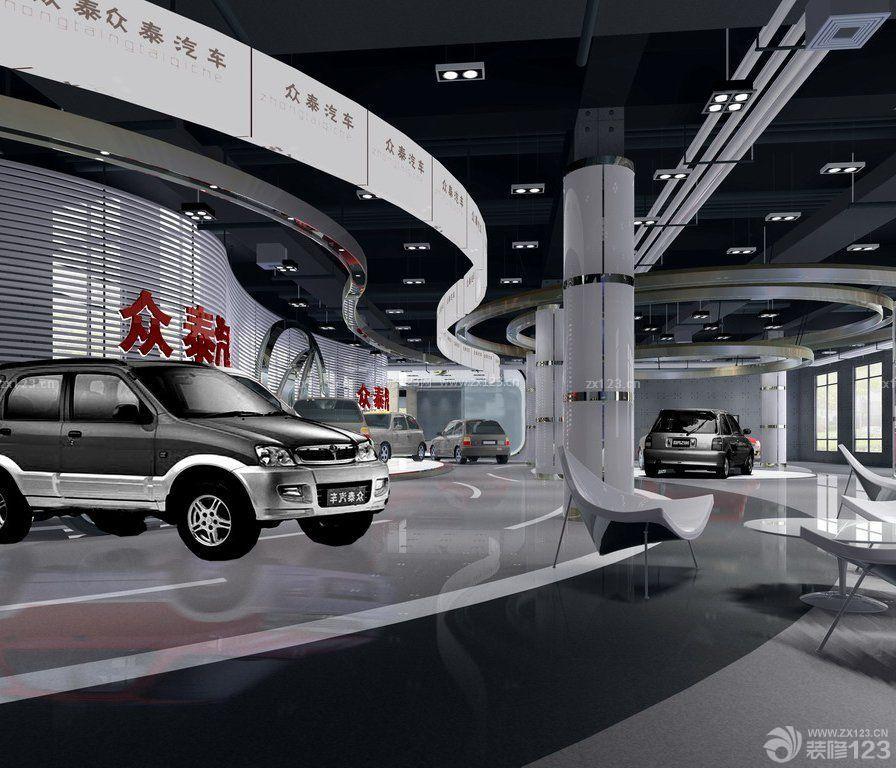 汽车4s店展厅布置设计装修效果图片大全