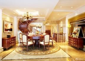 别墅装修效果图欣赏自建别墅设计项目园区湖的餐厅墅独图片