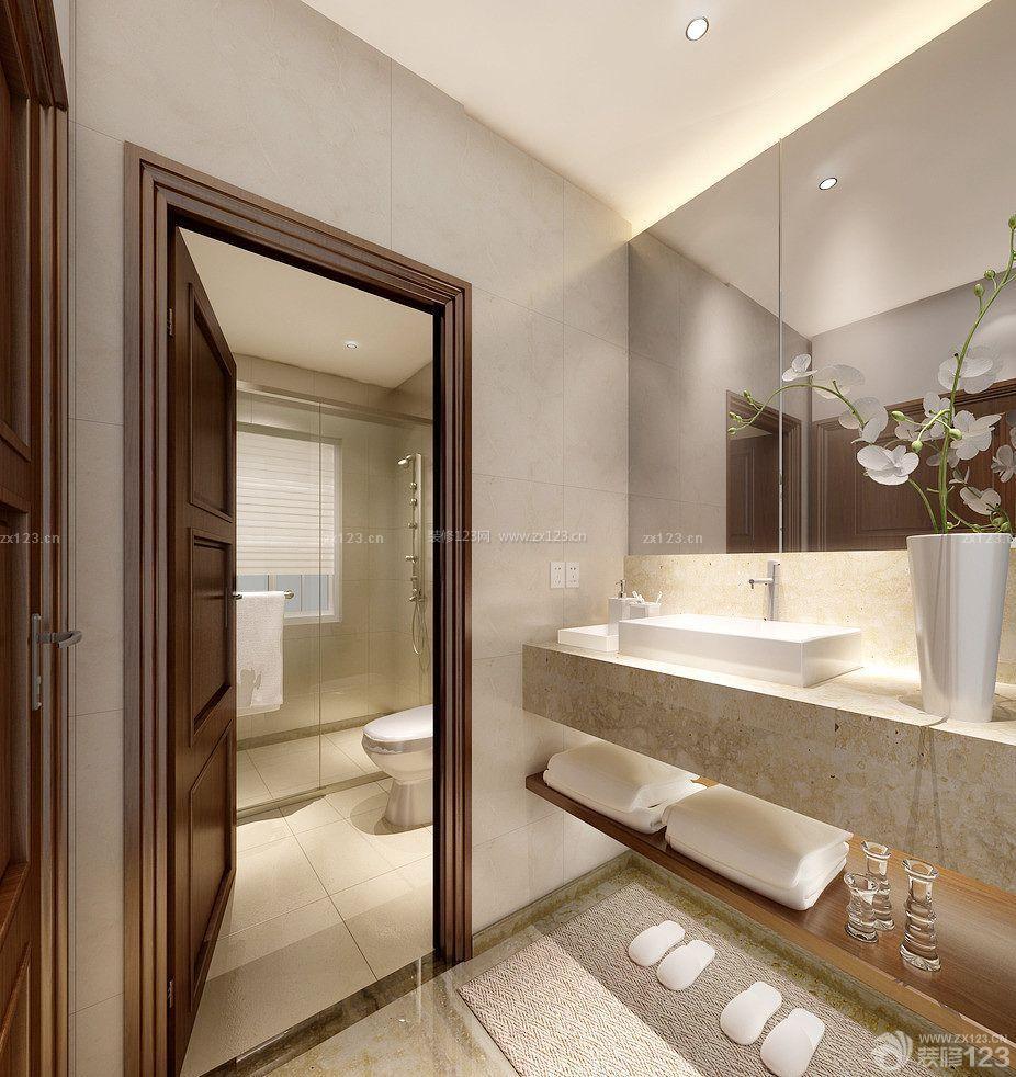 卧室卫生间门设计装修效果图