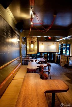 简单美式酒吧装修图片图片