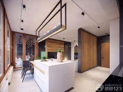 125平米房子櫥柜中島裝修效果圖片