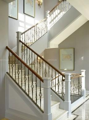 現代中式家裝 別墅樓梯設計圖